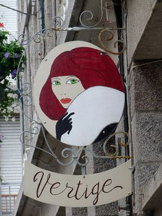 Shop sign in St Malo, Brittany, France by Finally, Sunday!, via Flickr