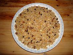 Κόλλυβα... Oatmeal, Breakfast, Blog, The Oatmeal, Morning Coffee, Rolled Oats, Blogging, Overnight Oatmeal
