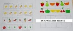 Fruit and Vegetable Patterning + lots of ideas and links