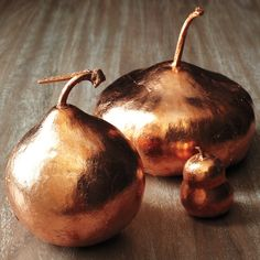 Copper Leaf Gourds and more on MarthaStewart.com