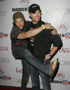 Why this is the best bromance ever....click on it. This will make your day