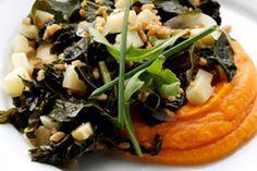 Go with the grain with chef E. Michael Reidt's hearty farro dish.