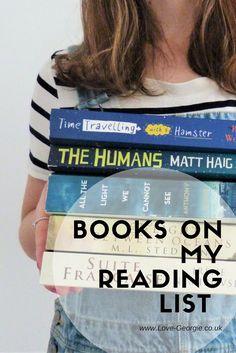 New Blog Post: Books on my reading list http://www.love-georgie.co.uk/2017/05/19/books-on-my-reading-list/  #books #reading #readinglist #summerreading #thehumans #suitefrancaise #allthelightwecannotsee #timetravellingwithahamster #thelightbetweenoceans #readingchallenge #blogpost #blogger #blogging #britishblogger #newblogpost #lifestyle #lifestyleblogger