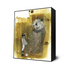 Panda Sweater Mini Art Block, $28, now featured on Fab. I want this really bad!!