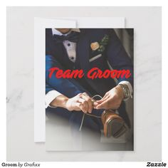 From invitations to postcards to greeting cards Zazzle has all the Groom stationery you need. Custom Postcards, Wedding Invitations, Groom, Stationery, Greeting Cards, Design, Personalised Postcards, Paper Mill, Grooms