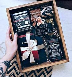Fathers Day Gift Basket, Valentine's Day Gift Baskets, Baskets For Men, Boyfriend Gift Basket, Boyfriend Gifts, Fathers Day Gifts, Husband Gifts, Gift Box For Men, Diy Gifts For Men