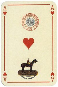 Ace Of Hearts Penizek Rainer Precious Furs Playing Cards Ace Of