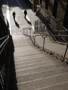 Belleville Quarter, rue Levert, Paris XX. (Jacques Deneux)