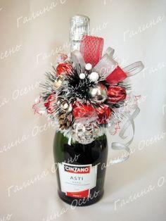 Gallery.ru / Украшение на шампанское №3 - Новый год - galley