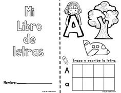 Bilingual kinder and Dual Language kinder alphabet activities for bilingual learning centers. Gomez and Gomez resources for bilingual centers. Preschool Spanish Lessons, Preschool Prep, Abc Centers, Learning Centers, Alphabet Activities, Literacy Activities, Teaching Resources, Online Spanish Classes, Bilingual Centers