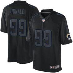 c14724609 ... Cardinals Kurt Warner jersey Nike Rams 99 Aaron Donald Black Mens  Stitched NFL Impact Limited ...