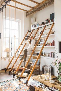 The beautiful apartment of jewellery designer Bibi van der Velden - Roomed