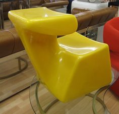 LUIGI COLANI plastic childs chair by PREVIEWMOD on Etsy, $675.00