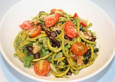 Low-Carb Spinach Pesto Pasta Salad