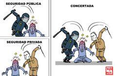 Ley de Seguridad Privada | Tinta permanente - la viñeta de Malagón - Yahoo Noticias España