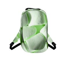 #greenmarshmellows by #chefjenkins, #citrusreport, #backpack, #bag, #bookbag, #green, #fluffy, #yum, #sugar, #sweet, #candy, #chewy, #@The Citrus Report
