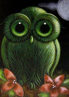 Google Image Result for http://www.ebsqart.com/Art/Gallery/Acrylics-Colored-Pencils-Pastels-Glitter/588787/650/650/FANTASY-GREEN-BABY-OWL.jpg