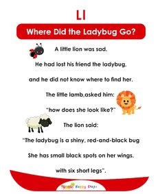 Small Stories For Kids, English Stories For Kids, Learning English For Kids, English Lessons For Kids, Kids English, English Reading, Jolly Phonics Activities, Kindergarten Reading Activities, Phonics Reading