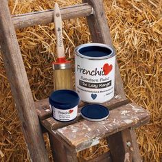 Introducing: The Lazy Range from Frenchic Furniture Paint.Same greatpaint,but with added wax. All you need to do is rub it down after it dries. No need to pai