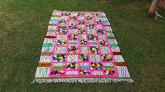 "90""X63"" Hand-woven Moroccan Cotton Throw Blanket Inspired Moroccan Wedding Blanket, Can used as Moroccan carpet"