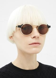 Thierry Lasry Sobriety Sunglasses (Blonde / Black)