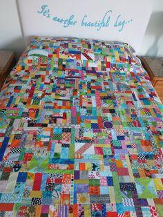 crazy mom quilts: scrap vortex QAL, week 5