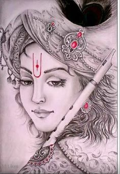 Tere bin kitni nam rahti h ye akhe .kbi tanhai m mje aa ke to deko .kho jau ga tum m teno loko ko bhul k bs apne gle mjko lga ke to deko . Krishna Tattoo, Krishna Drawing, Lord Krishna Sketch, Radha Krishna Sketch, Shiva Art, Krishna Art, Hindu Art, Hare Krishna, Pattern Tattoos