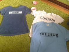 """""""CHERUB""""- Robert Muchamore  inspired T-shirts"""