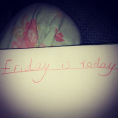 Friday quote from my beautiful 5yr old!!!  #happyfriday #fridayquotes