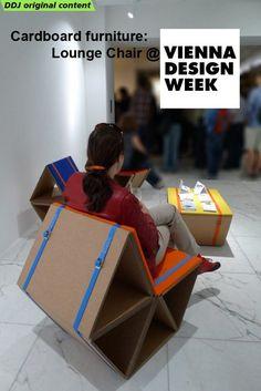 cardboard furniture: