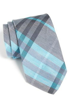 Burberry London Woven Linen & Silk Tie available at #Nordstrom