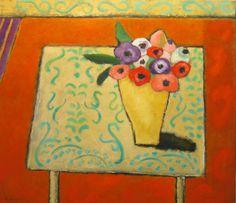 """Lita van Engelenhoven """"Bouquet anemones""""."""