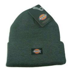 3b8fcc1395c0b Dickies Core Dark Grey Cuffed Beanie Hat Core Knit Cuff - NWT Warm Winter  Gray