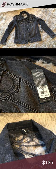 Spotted while shopping on Poshmark: True Religion Destroyed Danni Jacket! #poshmark #fashion #shopping #style #True Religion #Jackets & Blazers