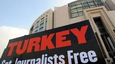 Middle East Last Update: Wednesday, 24 July 2013 Union: 59 journalists sacked since Turkey unrest Journalists and human right activists' protest in front of Istanbul's courthouse during the trial of two prominent Turkish journalists on November 2011. (File photo: AFP) AFP, Ankara At least 59 journalists in Turkey seen as critical of the government have been sacked or forced to resign since the start of nationwide protests in May, the country's journalists' union said Wednesday.