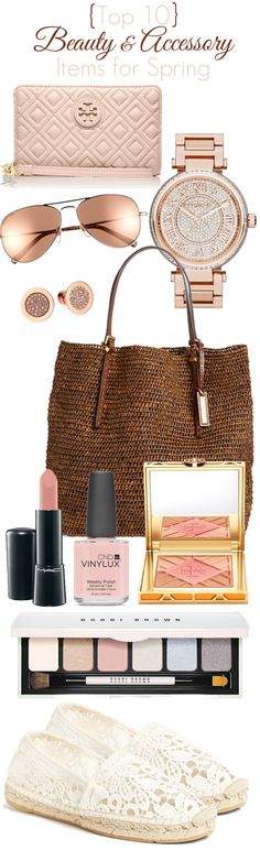 The Best Beauty and Accessories for Spring.