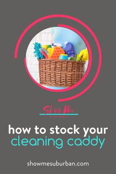 I used these 12 cleaning essentials to diy my own cleaning caddy. These ideas for double-duty products make cleaning faster and more efficient! Cleaning supply organization is so much easier! I love these tips on what to put in my cleaning basket. Cleaning Caddy, Cleaning Checklist, Cleaning Hacks, Cleaning Supplies, Storage Tubs, Storage Spaces, Laundry Room Organization, Storage Organization, Declutter Your Home
