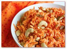 Helyn's Healthy Kitchen: Carrot Cashew Salad