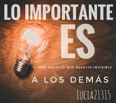 ~Lo importante es... ~ By Lucia21315  #words #Lucia21315