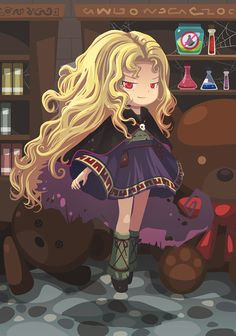 Witch Princess from Harvest Moon Sunshine Islands.