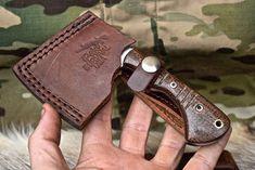 Knife Store: CFK USA iPak Custom Handmade D2 Mini Oregon Pack Axe Hatchet Survival Camp Knife