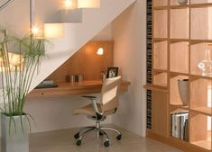 Study Table under Stairs - GharExpert