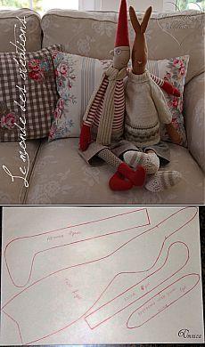 Tildozayats Thin MK y la idea para coser el patrón para este gnomo ..