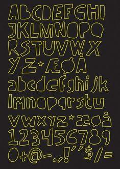 手書きで落書き風のかわいいフリーフォント「Handmade Font