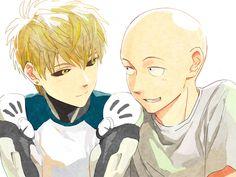 , Genos  , Saitama  (One Punch Man)