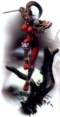 Fantasy Female Warrior, Anime Warrior, Female Art, Anime Fantasy, Dark Fantasy Art, Fantasy Girl, Female Character Design, Character Art, Soul Calibur Characters