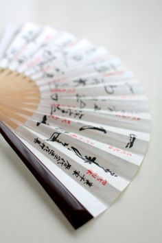 Japanese folding fan, Sensu 扇子 https://www.facebook.com/tabaca.magno