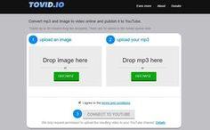 Tovid es una aplicación web gratuita para convertir mp3 a vídeo de forma que podamos publicarlo en la popular plataforma YouTube.