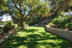 French Country Estate New Construction - traditional - Landscape - Los Angeles - KellyBaron
