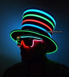Hey, I found this really awesome Etsy listing at https://www.etsy.com/listing/165835702/light-up-mad-hatter-top-hat-battery